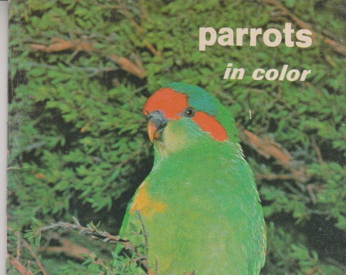 Parrots in Color (Softcover: Pets, Parrots) 1970