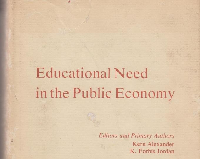 Educational Need in Public Economy (Hardcover, Educational, Teaching) 1976