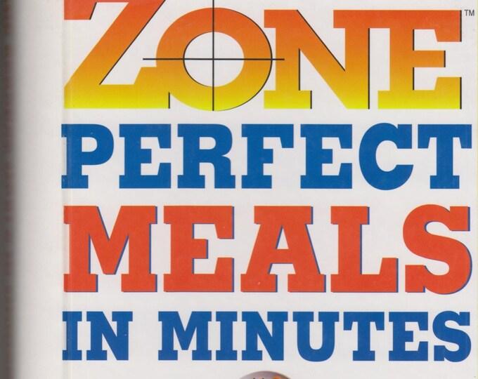 Zone Perfect Meals in Minutes  (Spiralbound: Diet, Cookbook, Nutrition) 1997
