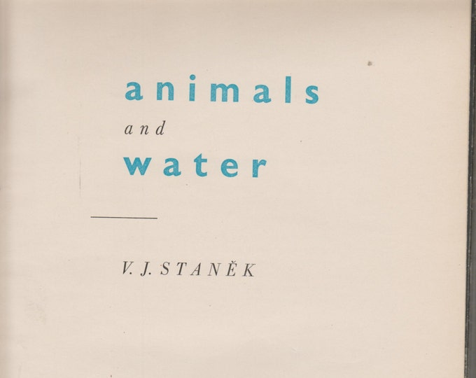 Animals and Water  (Oversized Book  1960) Nature, Animals
