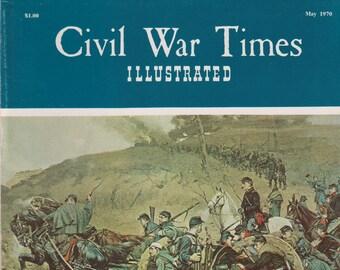 Civil War Times Illustrated May 1970 Bringing Up The Guns (Magazine: History, Civil War)