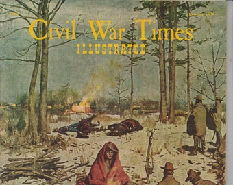 Civil War Times Illustrated December 1970 Waiting For Dawn,  Jubilee General Jubal A Early (Magazine: History, Civil War)