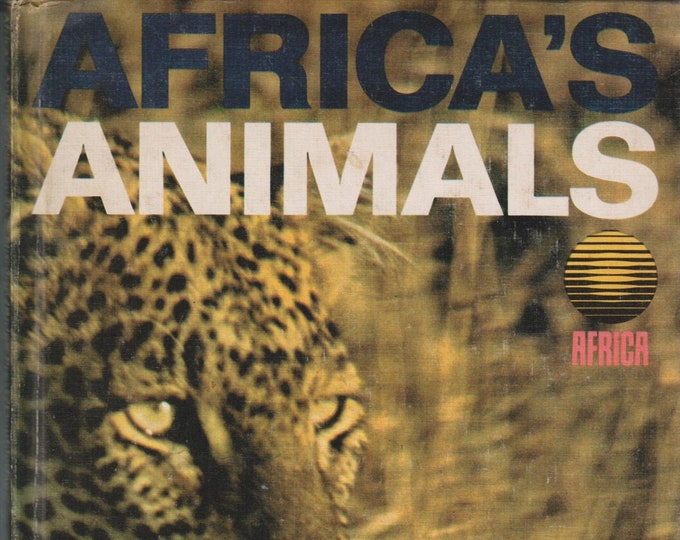 Africa's Animals (Hardcover: Animals, Nature) 1967
