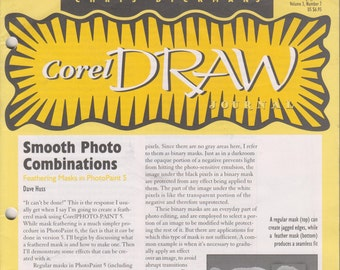 Chris Dickman's Corel Draw Journal July 1996 Smooth Photo Combinations