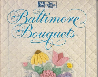 Baltimore Bouquets - Patterns and Techniques for Dimensional Applique (Softcover:  Crafts) 1992