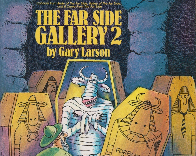 The Far Side Gallery 2 by Gary Larson (Softcover: Humor, Comics) 1988