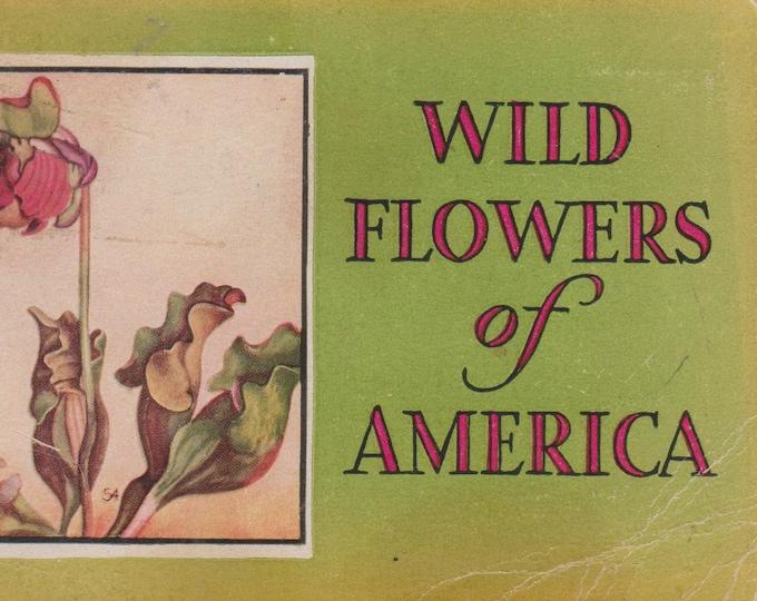 Wild Flowers of America  (Paperback: Gardening, Flowers)  1932