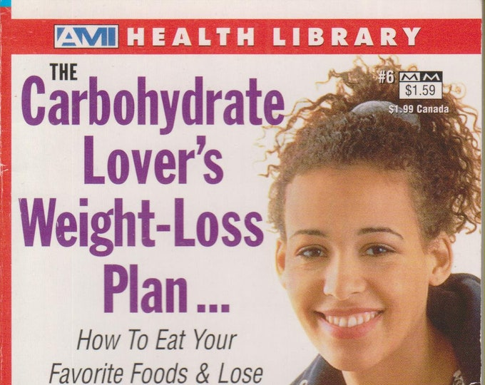 The Carbohydrate Lover's Weight-Loss Plan  (Paperback, Diet, Weight-Loss)  2000