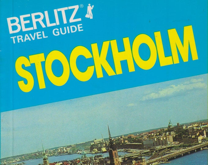 Stockholm (Berlitz Travel Guide)  (Softcover: Travel, Stockholm) 1981