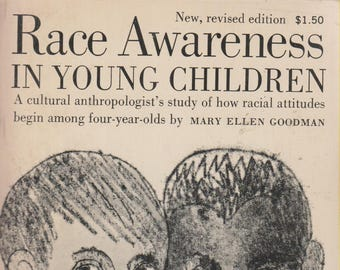 Race Awareness in Young Children (Paperback: Sociology, Educational) 1970