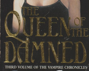 The Queen of the Damned by Anne Rice (Paperback: Mystery, Vampires, Horror)  1994