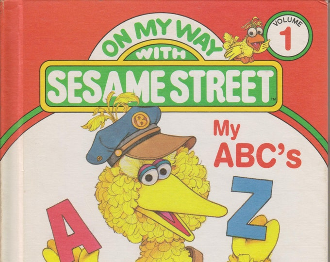 On My Way with Sesame Street My ABC's Volume 1 (First Edition)(Hardcover: Children's, Educational)