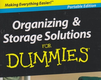 Organizing & Storage Solutions for Dummies (Paperback: Reference) 2010