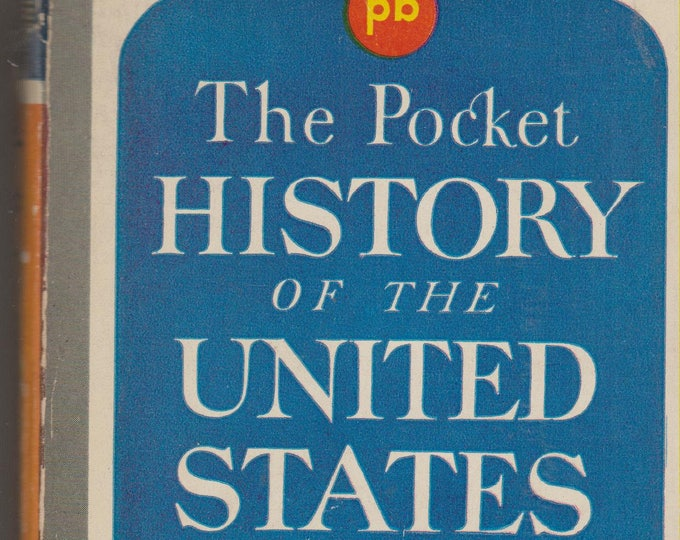 The Pocket History of the United States by Allen Nevins & Henry Steele Commager (Paperback, Nonfiction, History) 1944