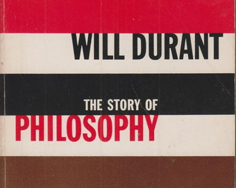 The Story of Philosophy by Will Durant (Paperback, Philosophy) 1965