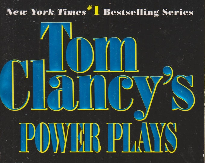 Tom Clancy's Power Plays Ruthless.com created by Tom Clancy and Martin Greenberg  (Paperback: Fiction, Power Plays, Red Storm, Spies)  1998