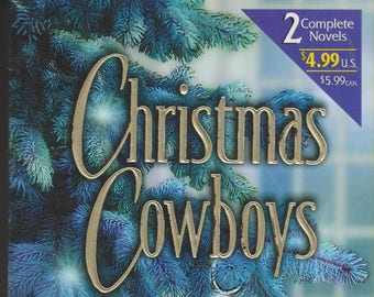 Christmas Cowboys by Ann Major & Stella Bagwell  (Paperback, Romance) 2002