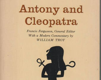 Antony and Cleopatra (The Laurel Shakespeare) Dell 0218 1965 (Paperback: Theatre, Play, Classic)