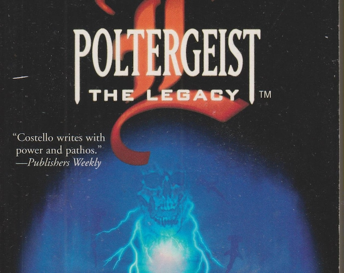 Poltergeist - The Legacy  Maelstrom  by Matthew Costello  (Paperback: Horror) 2000