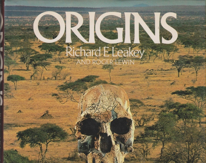 Origins  What New Discoveries Reveal About the Emergence of Our Species and its Possible Future  (Hardcover, Science, Nature) 1978
