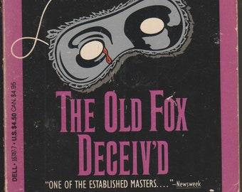 The Old Fox Deceiv'd by Martha Grimes (Paperback: Mystery) 1988