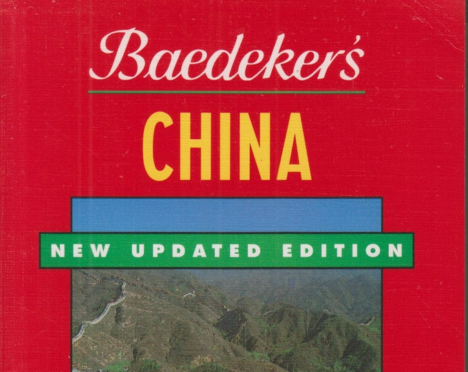 Baedeker China (Baedekers Travel Guides)    (Softcover, Travel, China) 1994