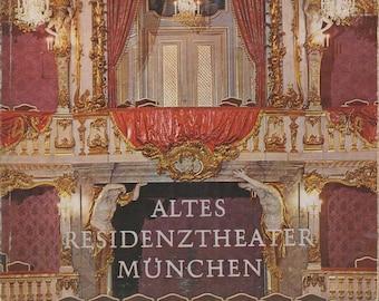 ALTES RESIDENZTHEATER MÜNCHEN (Softcover: Travel, Germany, Munich ) 1969