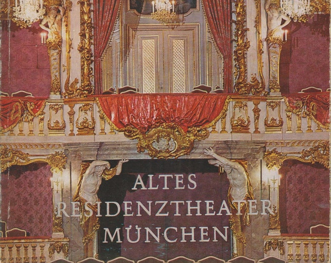 ALTES RESIDENZTHEATER MÜNCHEN (Softcover: Travel, Germany, Munich ) 1969