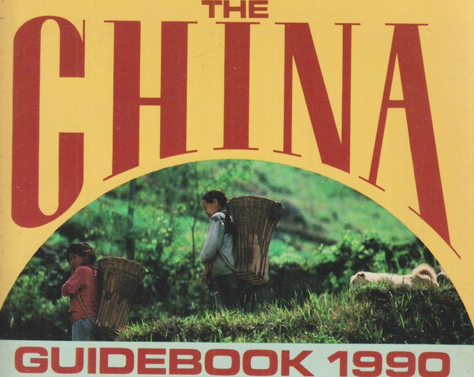The China Guidebook 1990    (Softcover: Travel, China) 1990