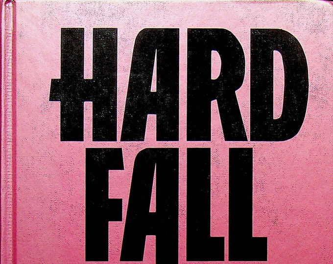 Hard Fall by Ridley Pearson  (Hardcover: Large Print, Adventure, Suspense)