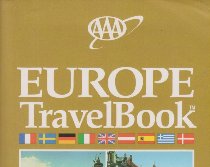 AAA Europe TravelBook (Softcover: Travel, Europe)  1998