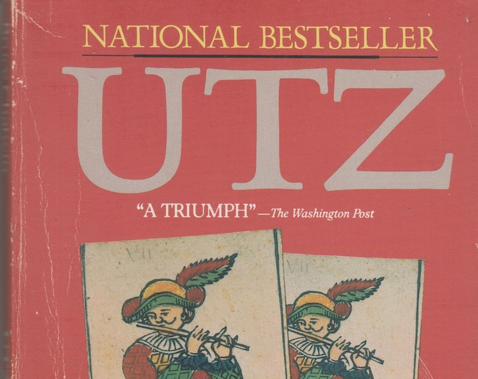 Utz by Bruce Chatwin 1989 Paperback (Softcover, Fiction) 1989