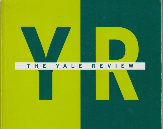 The Yale Review April 2004 Volume 92 No. 2   (Paperback: Poetry, Fiction, Review)