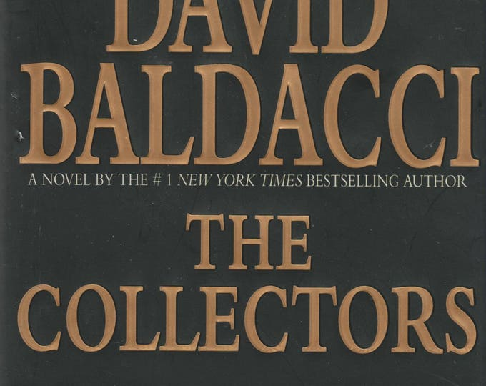 The Collectors by David Baldacci (Hardcover, First Edition, Mystery)