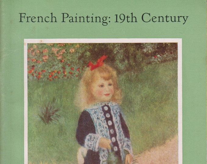 French Painting 19th Century  In The National Gallery Of Art  (Staplebound: Art, Fine Arts)  (c) 1959