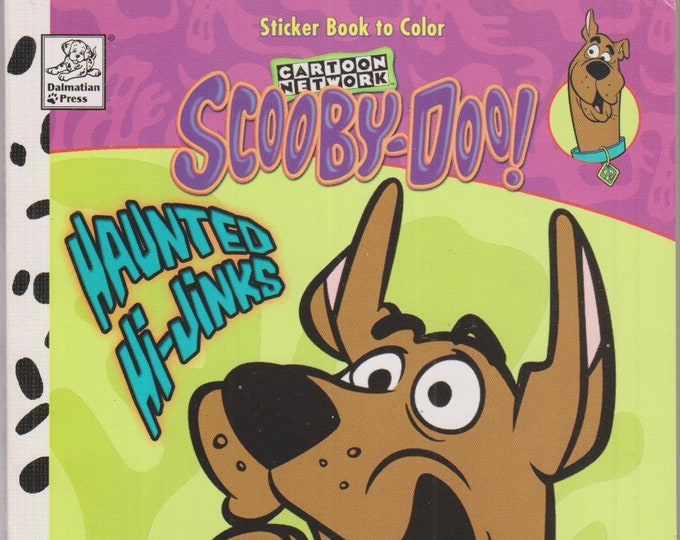 Scooby-Doo! Set - Scooby-Doo and the Haunted Castle and Scooby Doo Haunted Hi Jinks Coloring Book (Paperback: Children's. TV Cartoons) 2002