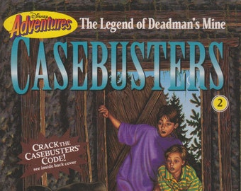 The Legend of Deadman's Mine (Disney Adventures Casebusters #2)  (Paperback: Disney, Chapter Books)  1995