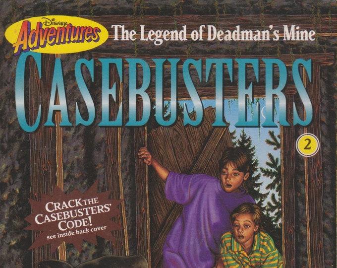 The Legend of Deadman's Mine (Disney Adventures Casebusters #2)  (Paperback: Disney, Chapter Books)  1995