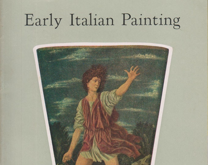 Early  Italian Painting In The National Gallery Of Art (Staplebound: Art, Fine Arts)  (c) 1960