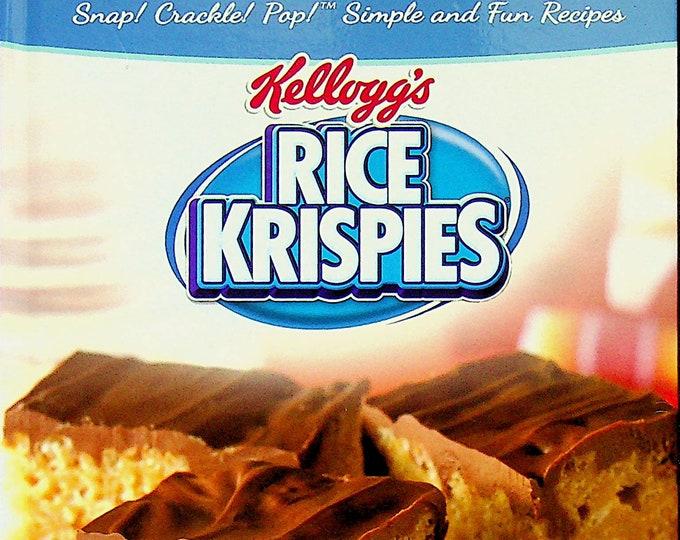 Kellogg's Rice Krispies Cookbook Recipes (Hardcover: Cookbook, Recipes)