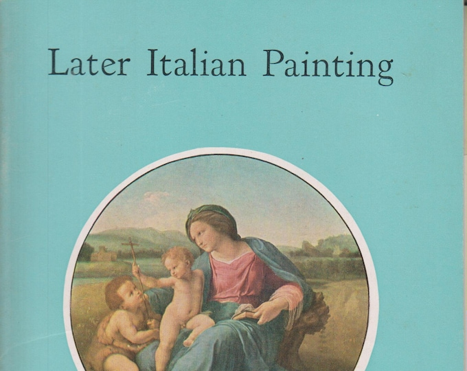 Later Italian Painting In The National Gallery Of Art (Staplebound: Art, Fine Arts)  (c) 1960