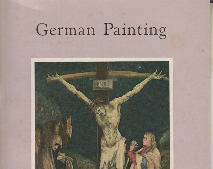 German Painting In The National Gallery Of Art (Staplebound: Art, Fine Arts)  (c) 1960