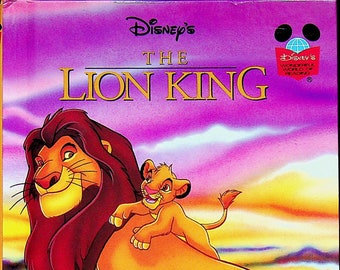 The Lion King  (Disney's Wonderful World of Reading)  (Hardcover, Children's) 1994 First American Edition