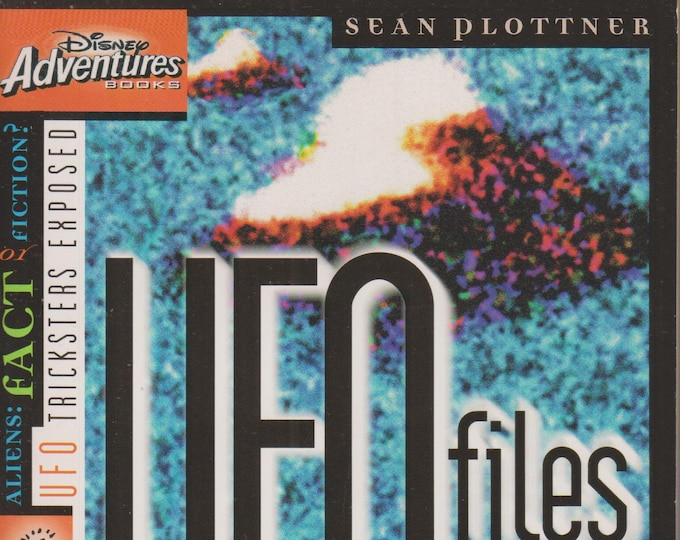 Disney Adventures UFO FIles Out of This World... But True? (Paperback: Disney, Chapter Books)  1997 First Edition