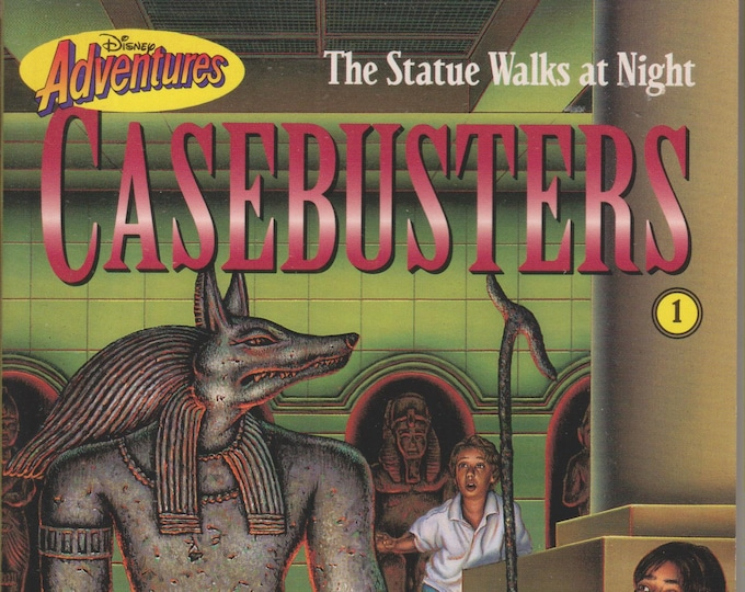 The Statue Walks At Night  (Disney Adventures Casebusters #1)  (Paperback, Disney, Chapter Books)  1995