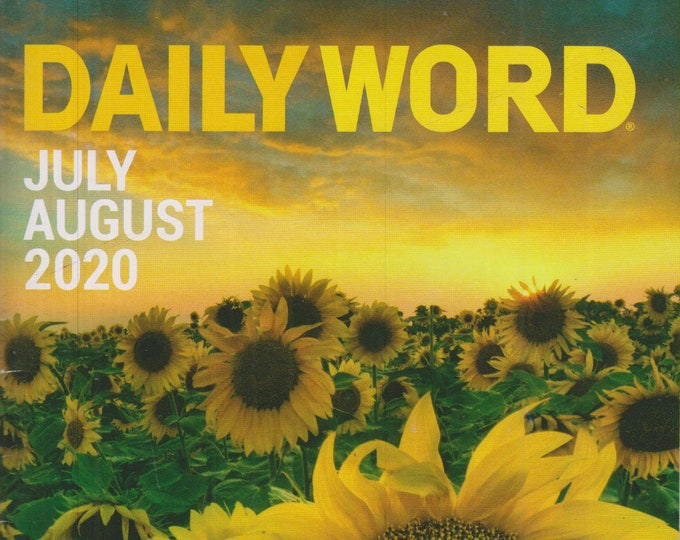 Daily Word July August  2020 ( Magazine:  Inspirational)