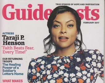 "Guideposts February 2017 Actress Taraji P. Henson ""Faith Beats Fear, Every Time!"" (Magazine, Inspirational)"