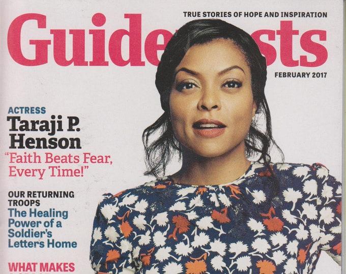 "Guideposts February 2017 Actress Taraji P. Henson ""Faith Beats Fear, Every Time!"" (Magazine, Inspirational)"