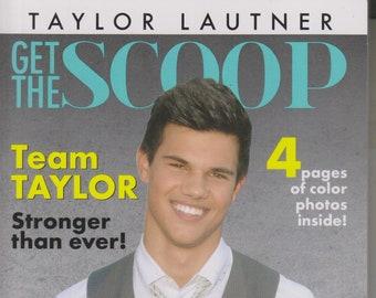 Taylor Lautner Get The Scoop  (Paperback: Biography, Movies, Celebrities) 2014