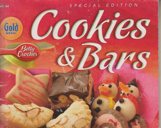 Gold Medal/Betty Crocker Cookies & Bars  (Staple Bound Magazine, Recipes, Cookies)  2005
